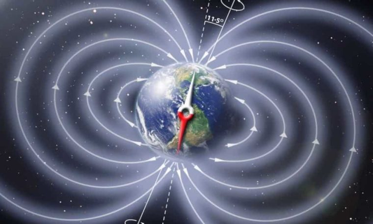 Earth's Magnetic Field Was On The Brink Of Collapse Over 500 Million Years Ago